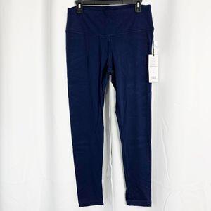 90 Degree By Reflex Pants - NEW 90 Degree XL eclipse blue Compression Leggings